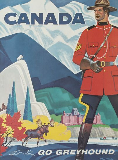 how to get travel history from usa to canada