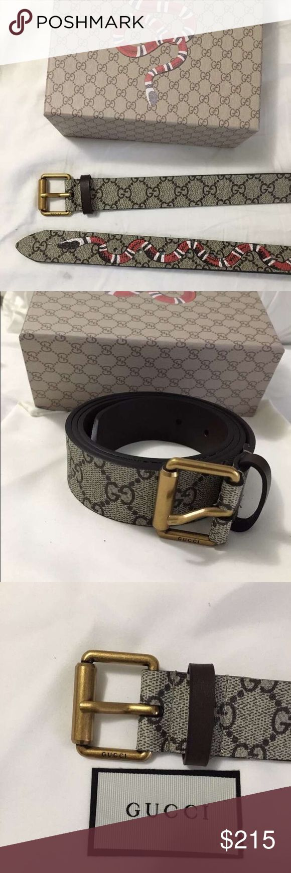 Gucci belt with snake design New, Never worn Gucci Accessories Belts