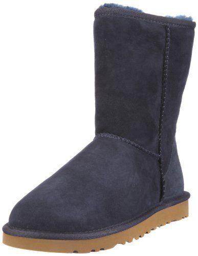 UGG Classic Short II Boot Women stormy grey: Tweet – Obermaterial: Leder (weiches, robustes Schafleder) – Innenmaterial: echtes weiches…
