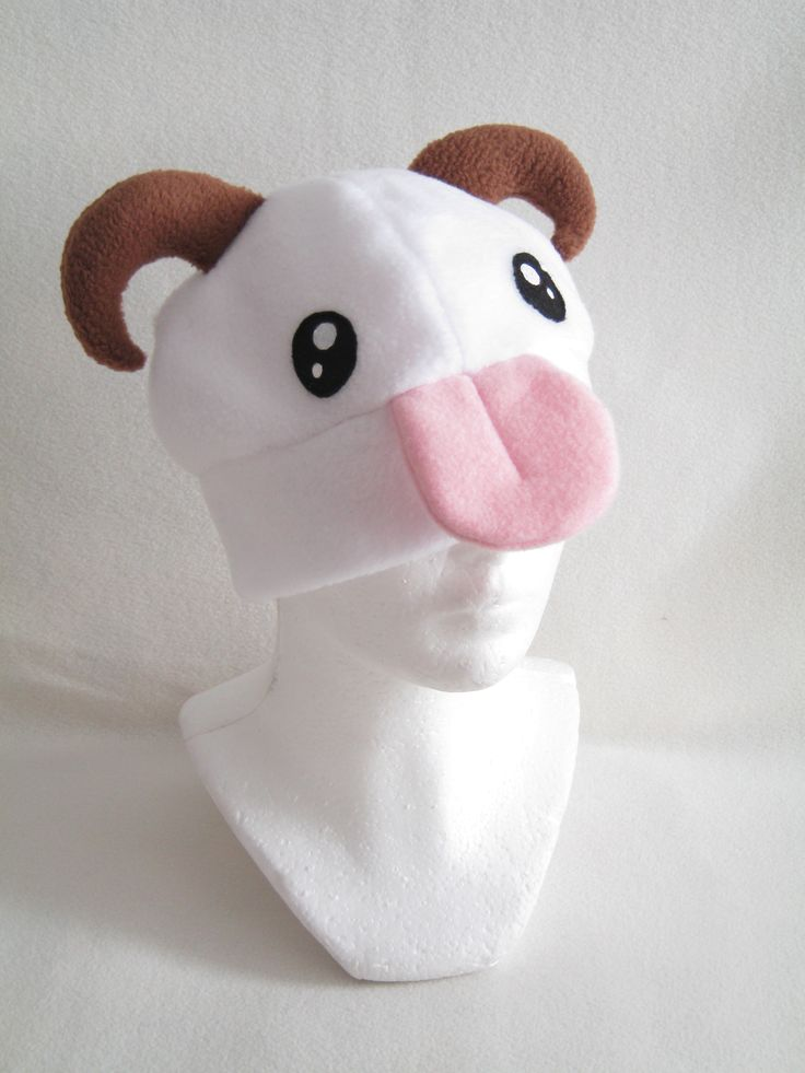 Poro Hat from League of Legends Made by Plush Workshop