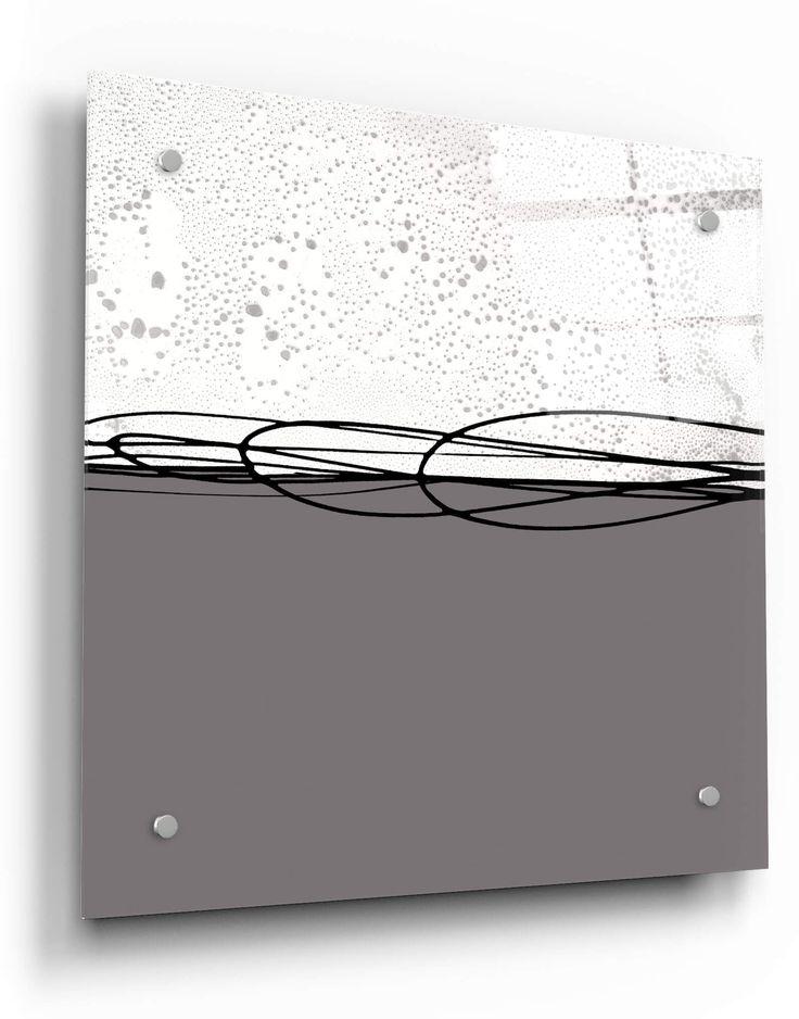 Eglomise Brassica white mirror 02