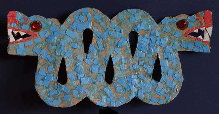 Make an Aztec serpent with our easy craft activity for kids.