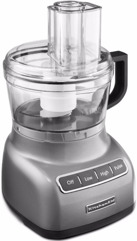 KitchenAid New Powerful Durable Contour Silver 7-cup Modern Food Processor  #kitchen #appliances #foodprocessor #home