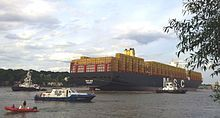 MSC Zoe is owned by Mediterranean Shipping Company (MSC) with tonnage of 199,273 DWT, one of the largest container ships of the world