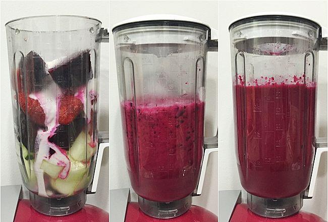 ChupChupChup: Gazpacho de remolacha y fresas