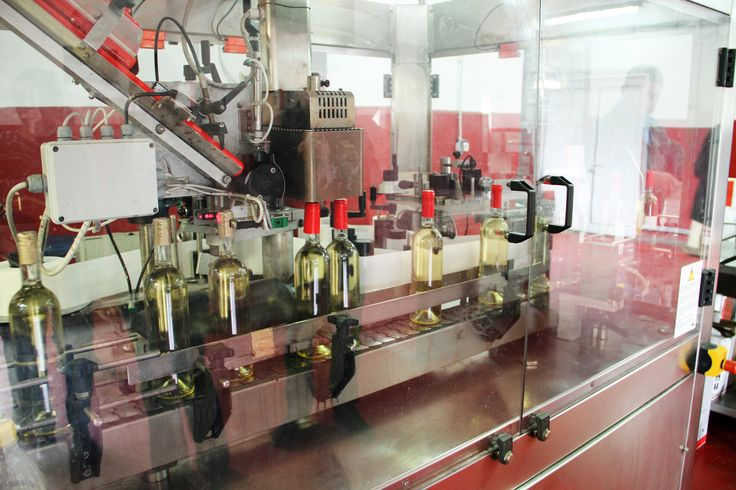 Wine bottling process. Domeniile Sahateni working day.  https://www.facebook.com/AureliaVisinescuWines