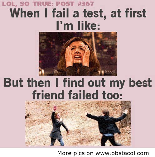 Hahahaa! This is so true! Haha - especially when it is my smart friends because then I know it wasn't just because I was stupid.