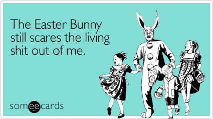 bunnies: Easter Wedding, Easter 2013, Easter Parade, Easter Bunnies, Things, Happy Easter, Easter Humor, Living Shit, Funny Easter Ecards