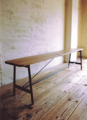 TRUCK|119. SUTTO BENCH | http://www.truck-furniture.co.jp/shop/products_cha0005.html
