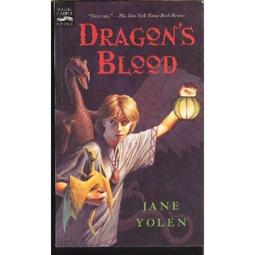 Dragon's Blood: Jane Yolen: Amazon.com: Books  book from jr high