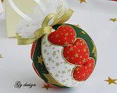 Items similar to Hart Christmas ornament, kimekomi, xmas ornament, Christmas baubles, xmas baubles, patchwork ornaments, fabric Christmas ornamentshart on Etsy