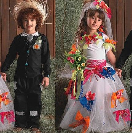 São João - Idéias e dicas para os vestidos e trajes típicos para a criançada dançar quadrilha
