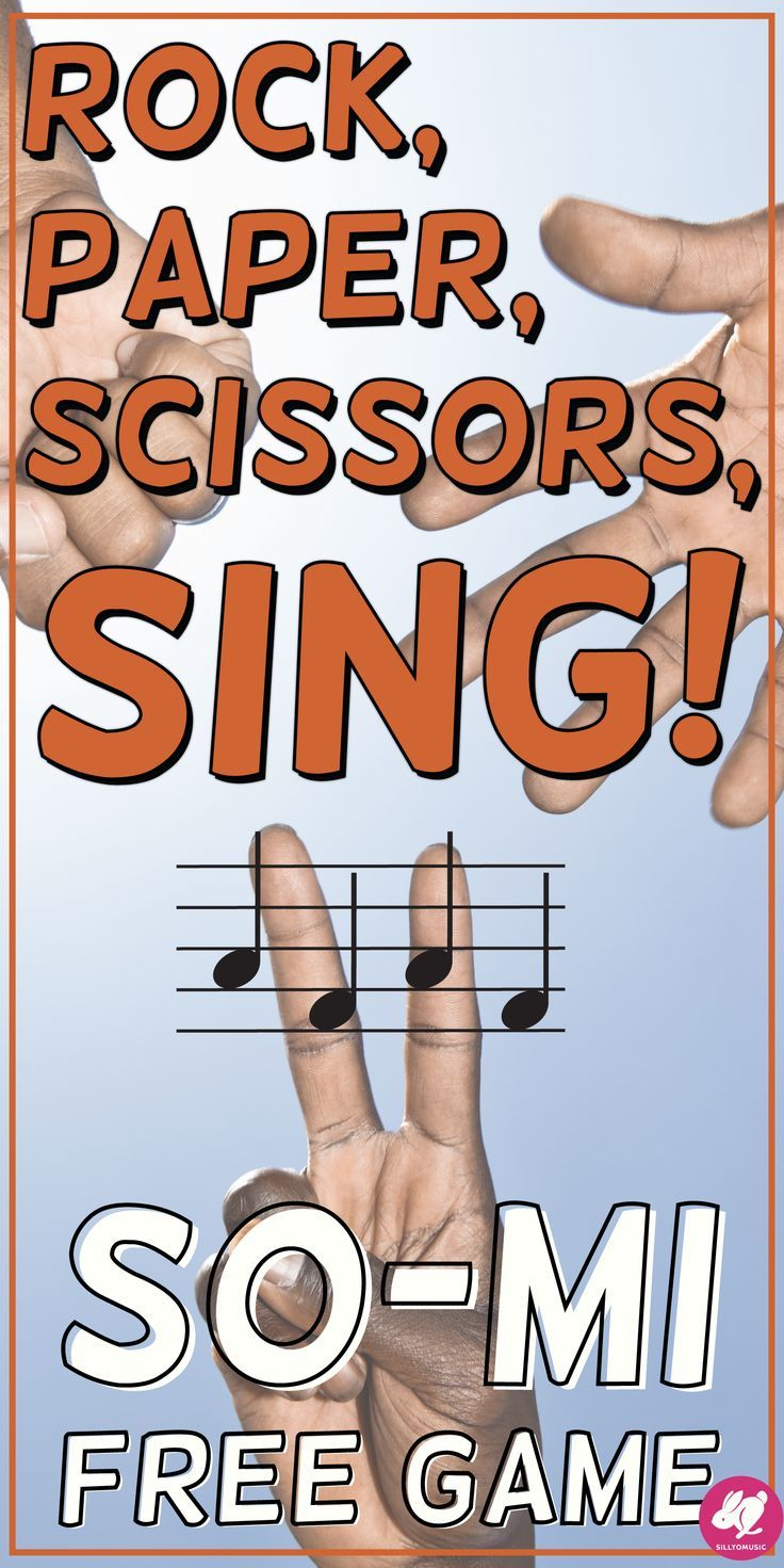 Rock, Paper, Scissors, SING is a fun, FREE, PowerPoint music game for reinforcing so-mi melodic patterns! This is a great activity for primary classes to practice sight-sing sol-mi on the 5-line staff!