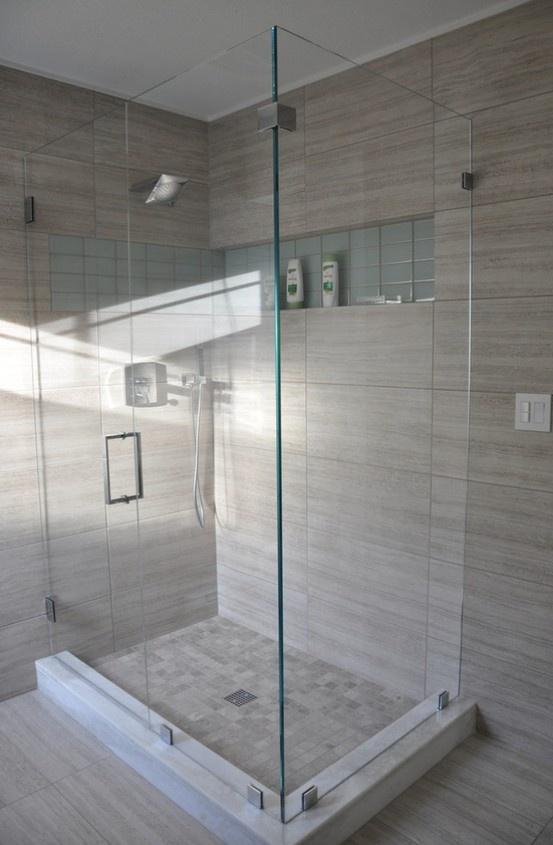 master bath shower doors.