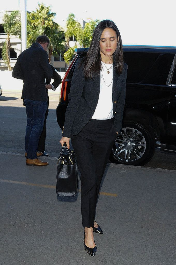 Jennifer Connelly is seen at LAX