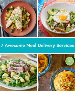 7 Awesome Meal Delivery Services
