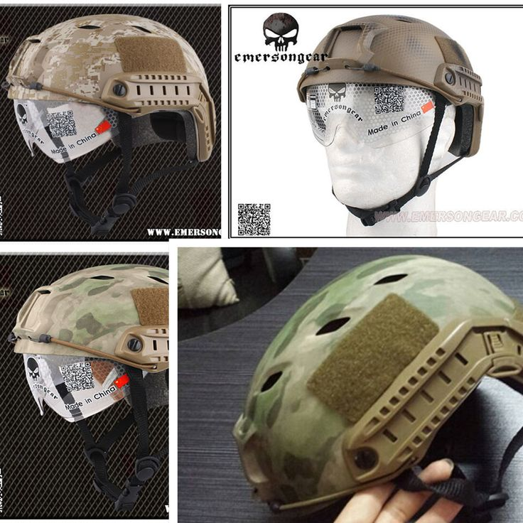 EMERSON FAST Helmet With Protective Goggle BJ Type EM8818G Navy Seal AT/FG DD