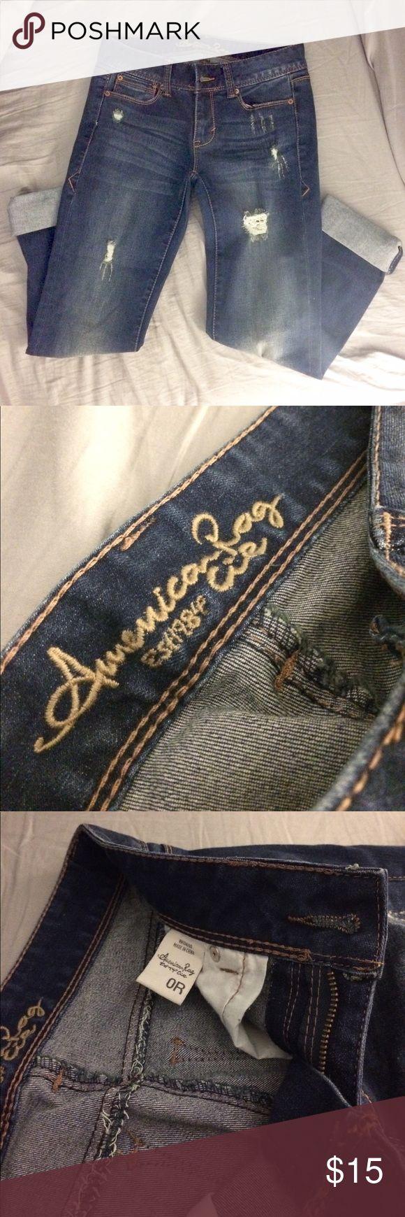 American Rag Jeans • NWOT • brand new never worn • perfect condition • American Rag jeans • mom jeans that fit a little like skinny jeans • American Rag Jeans Straight Leg