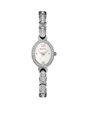 Bulova Women's Women's Bracelet Watch - Silver - One Size