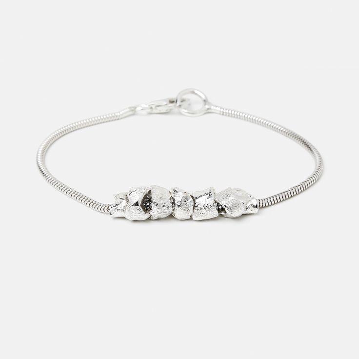 Silver Pearl Bracelet // SIGNED STUDIO