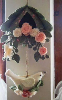 Resultado de imagem para artesanato com feltro para cozinha
