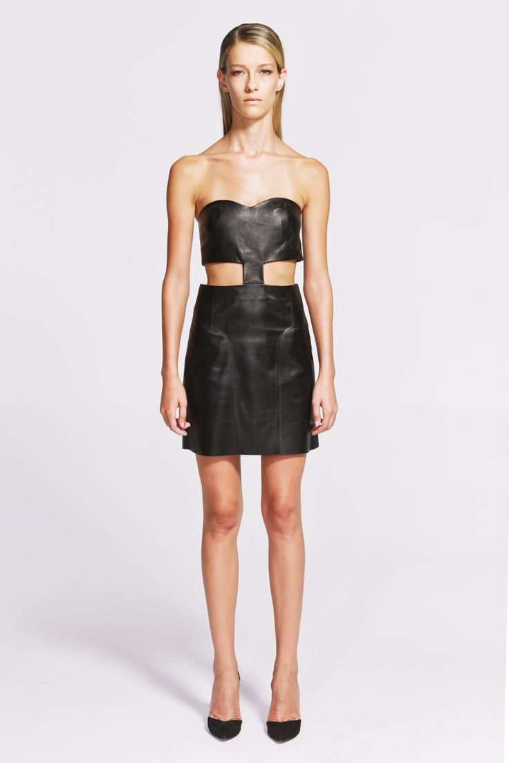 Circe Leather Dress  https://www.jibeoh.com/product/listing/60/circe_elbise