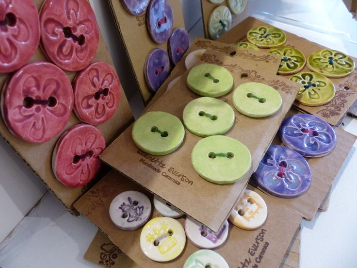 cute buttons by Jeannette Everson