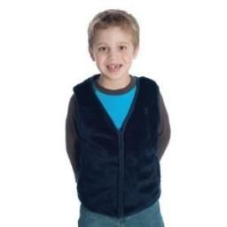Kid's Fur Weighted Vest with Shoulder Weights