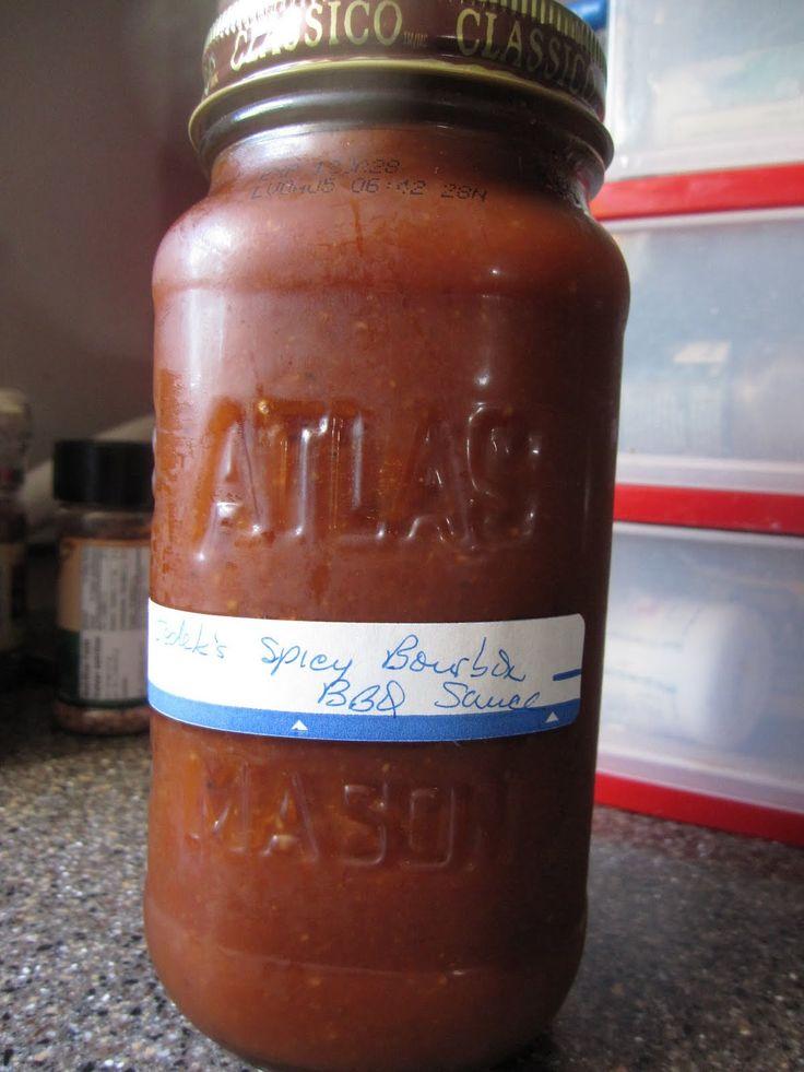 Anthony's Spicy Bourbon BBQ Sauce