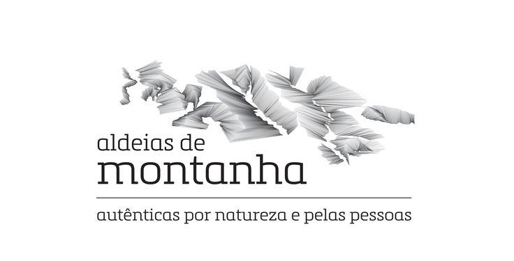 Aldeias de Montanha Brand with Tagline © www.guda.pt