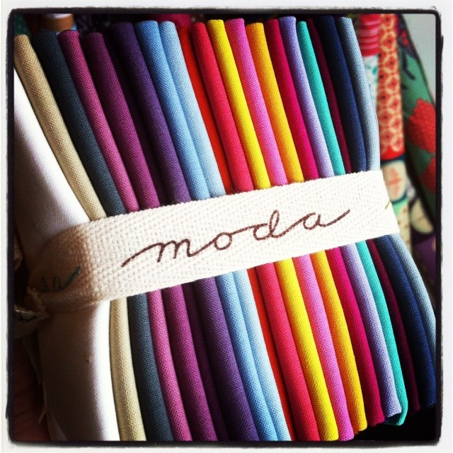 Love the new Moda Solids