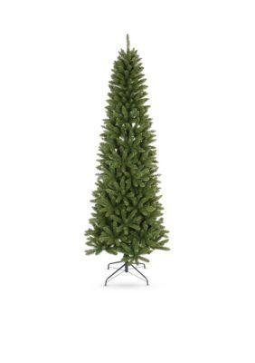 Santa's Workshop Slim Artificial Christmas Tree - Green - One Size
