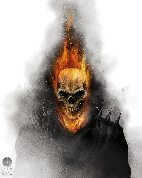 Ghost Rider - John Aslarona