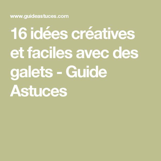 16 idées créatives et faciles avec des galets - Guide Astuces