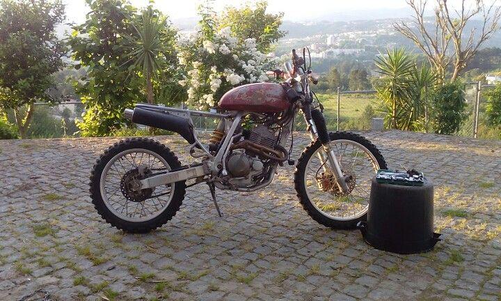 Xr scrambler fuel tank