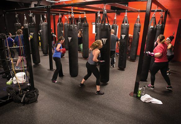Kickboxing At Box It Fitness In Lititz 40 Person Check Out