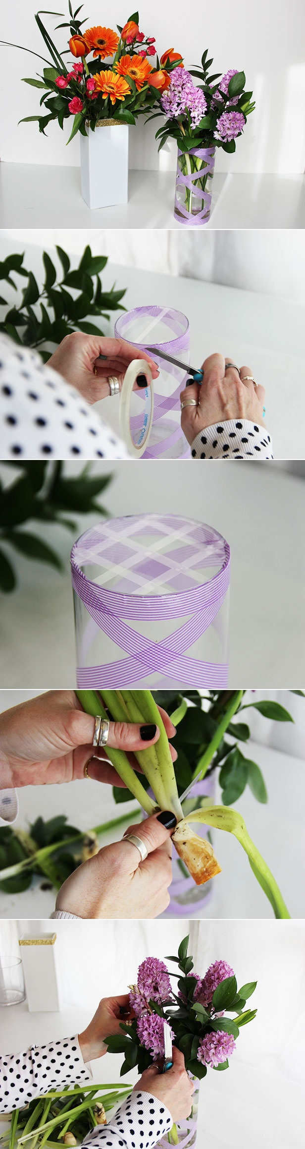 Arrange Flowers Like a Pro >> http://blog.diynetwork.com/maderemade/2013/05/01/how-to-arrange-grocery-store-flowers/?soc=pinterest