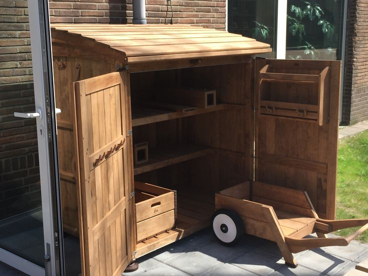 Accoya® Wood used to create various Garden Furniture. #accoya #wood #imagination