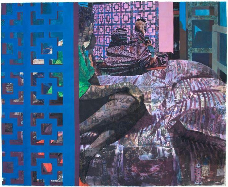 Paintings by Njideka Akunyili: njideka-akunyili-my-delicious-darkness-800x656.jpg