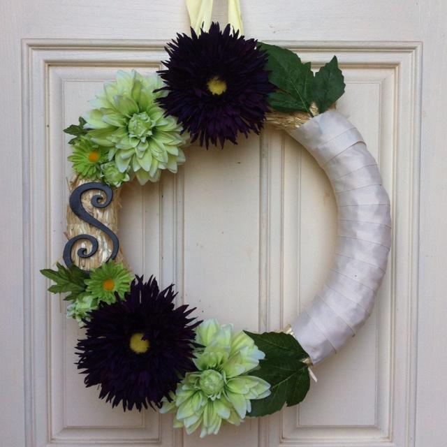 My homemade wreath!