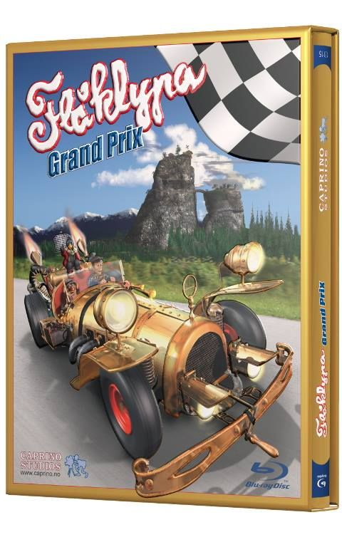 Flåklypa Grand Prix blu-ray