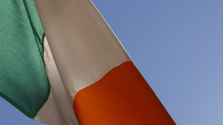 The Irish Tri-Colour Flag - Éire becomes the Republic of Ireland in 1949