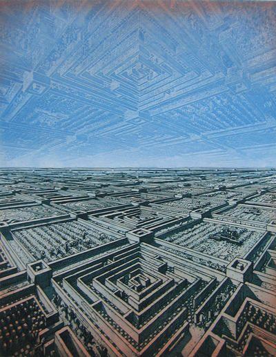 Manhole, 1972            La ligne jaune, 1972       Labyrinth, 1980       Auf Polls Spuren, 1976                 Die Eisenbahnen haben ein...