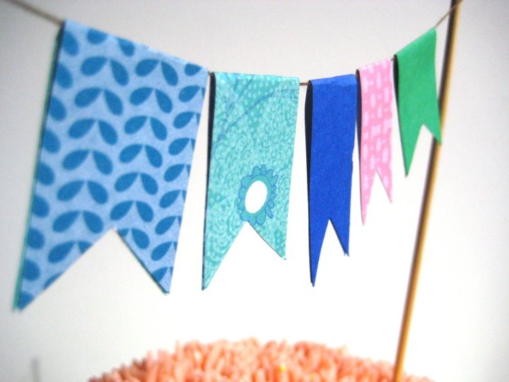 cake bunting  www.thechubbybunny.ca
