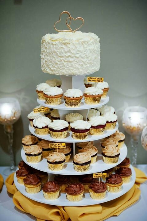 50th Wedding Anniversary Cake Cupcakes Cakes By Maryann
