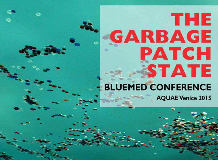On October 16, 2015 The Garbage Patch State will take part with a new installation at the BlueMed