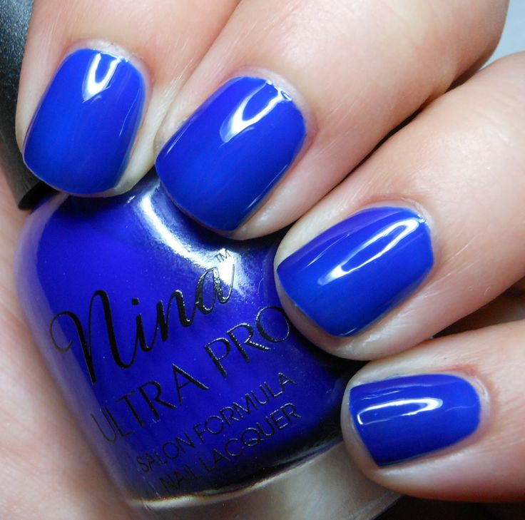Nina Ultra Pro- Cobalt.: Imperfect Paintings, Polish Collection, Pro Cobalt, Nails Design, Nina Ultra, Cobalt Blue, Nina Nails Polish, Bottle Design, For The Ultra