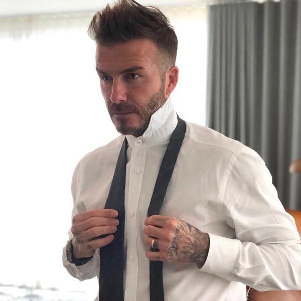 Every David Beckham Haircut How To Get Them David Beckham Style
