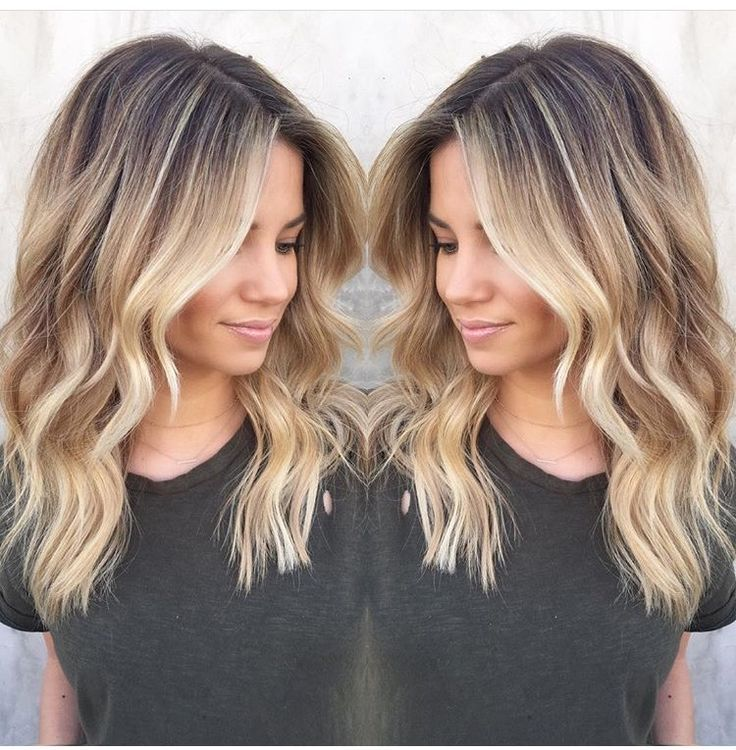 Cut (layers) and length! Blonde starts too high up head