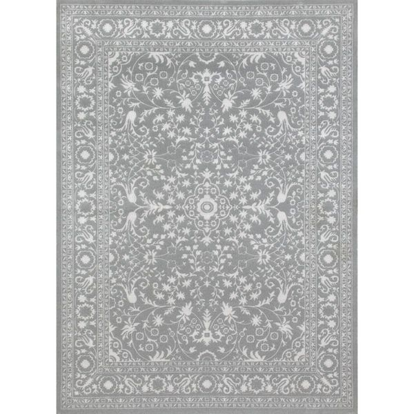 Traditional Framed Floral Indoor Area Rug (7'10 x 10'2) | Overstock.com Shopping - The Best Deals on 7x9 - 10x14 Rugs